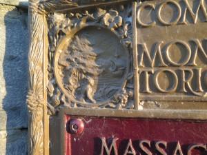 Lachine Massacre Monument (1935) détail