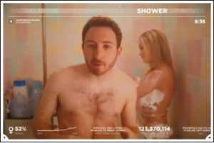 still of shower Netowrk effet