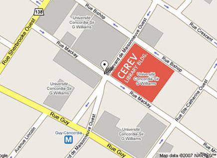 CEREV Map